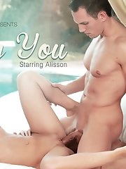 Alisson and her real life boyfriend can`t get enough of each other, witness their insatiable sexual attraction in this HD scene.